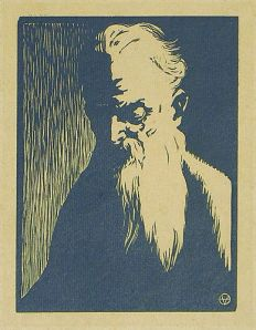 Felix Vallotton - Portrait Of An Old Man